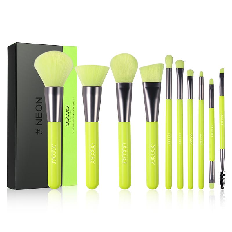 Makeup ulta-Professional Makeup Brushes 10 pcs Set